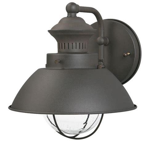 portfolio 1 light rust outdoor wall light item 24232