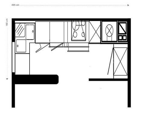 plan cuisine 6m2 une cuisine très complète inspiration cuisine