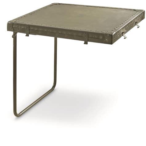 Surplus Desk by U S Surplus 4 Pc Wooden Field Desk Like New