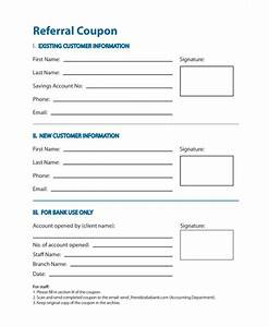 referral document template - 11 referral coupon templates sample templates