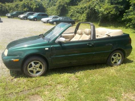 volkswagen convertible 2000 purchase used 2000 volkswagen cabrio gls convertible 2