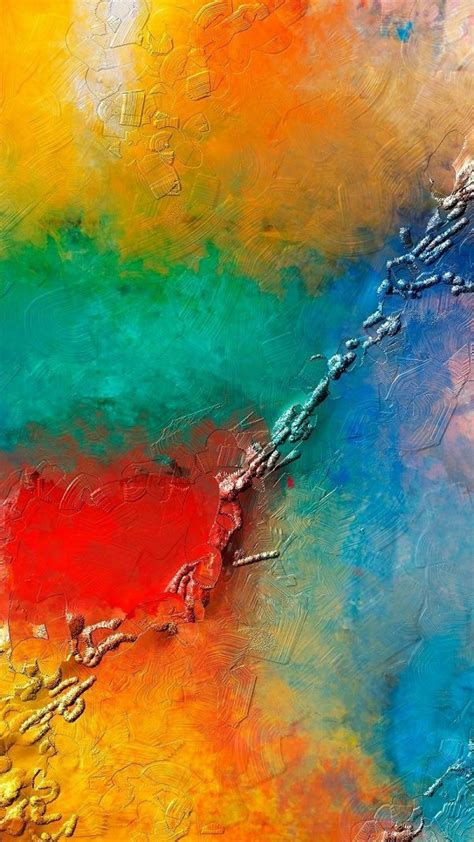 Abstract Wallpaper Colorful Wallpaper Painting abstract colorful painting mobile wallpaper mobile
