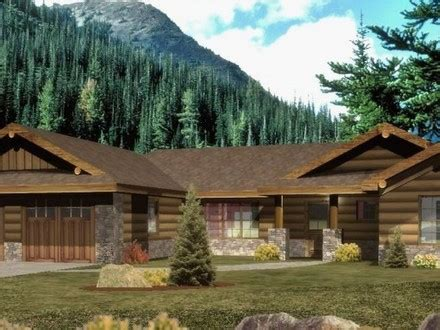 Ranch Style Log Home Floor Plans by Ranch Style Homes Ranch Style Log Homes Log