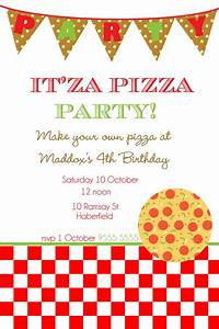 pizza party invitations theruntimecom With pizza party flyer template free