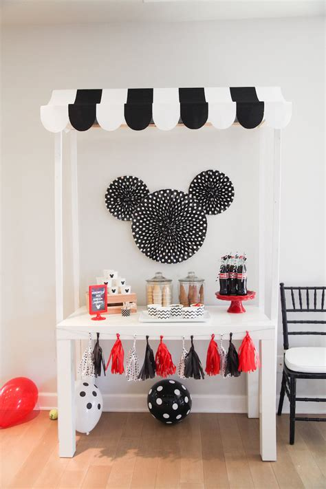 karas party ideas classic mickey mouse birthday party