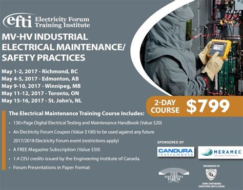 industrial electrical maintenance training