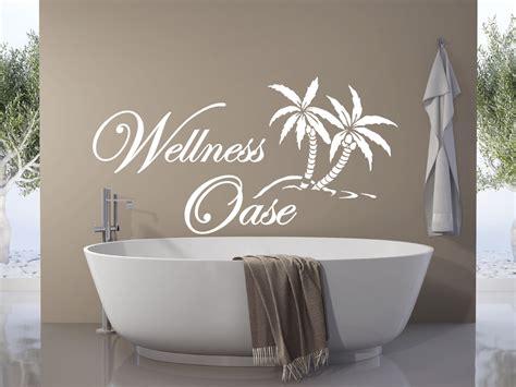 wandtattoo wellness oase wandtattoo wellness oase mit palme badezimmer entspannung
