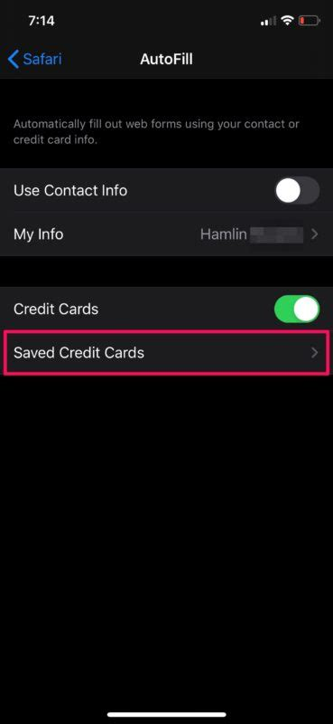 How to manage autofill credit cards on iphone. How to Save Credit Card Info in Safari on iPhone & iPad