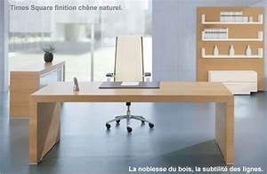 Mobilier Bois Design : bureau direction b nisterie haut de gamme design times square ~ Melissatoandfro.com Idées de Décoration