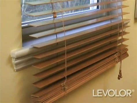 shorten blinds video levolor wood  faux wood