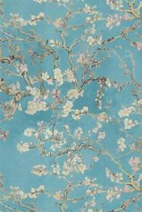 Cherry blossom col16 landhaus tapete grun weiss und for Balkon teppich mit tapeten hellweg