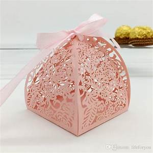 wedding favor candy box mini laser engraved gift box party With wedding favor chocolate boxes