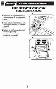 2005 Ford Freestyle Radio Wire Harness Kits