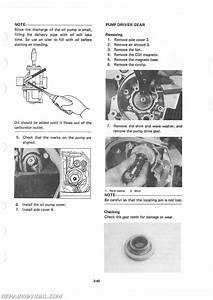 1983 Yamaha Cv80k Riva Scooter Service Manual