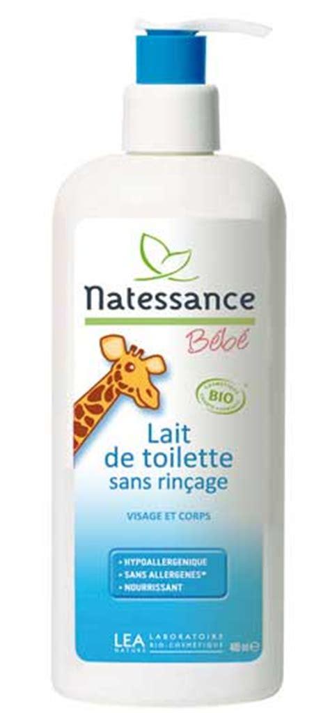 natessance lait de toilette visage et corps b 233 b 233 400ml boutique bio