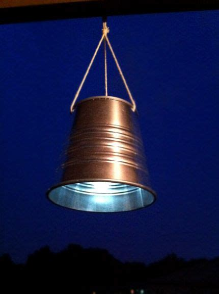 make rustic hanging solar lights ikea hackers