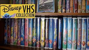 Disney Vhs Collection - Disney Video Collection
