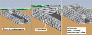 Monter Mur En Parpaing : b tir un abri de jardin en parpaing abri de jardin ~ Premium-room.com Idées de Décoration