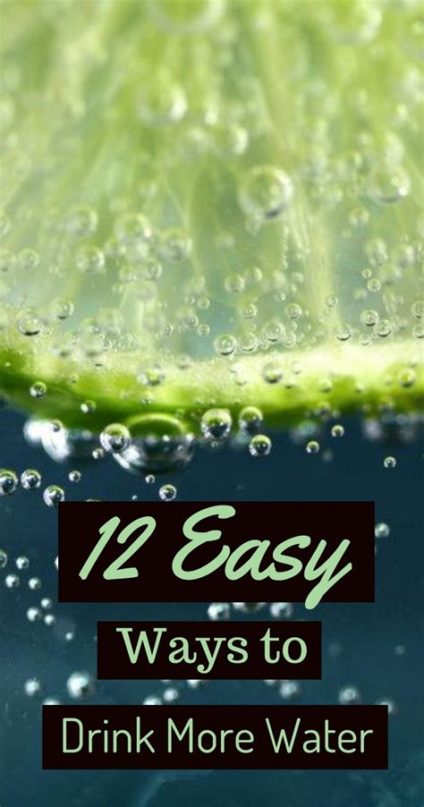 12 Easy Ways To Drink More Water & Stay Hydrated  Eat Lose Gain