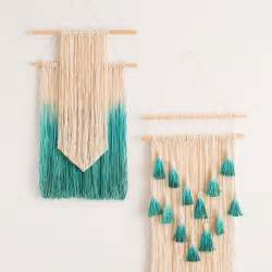 Simple ways to make wall art with string brit co