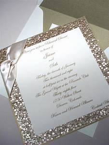 glitter wedding invitation arabia weddings With wedding invitations glitter border
