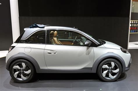 Opel Gets Crossover Cute With The Adam Rocks Concept W