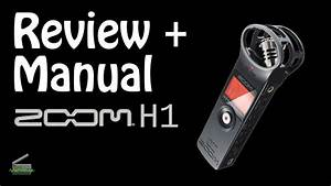 Review   Manual Do Gravador H1 Da Zoom