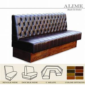 Alime Abt101 Custom Restaurant Brown Leather Straight
