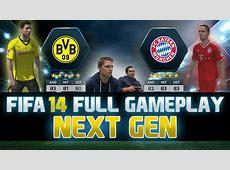 Fifa 14 FULL Next Gen Gameplay Borussia Dortmund vs