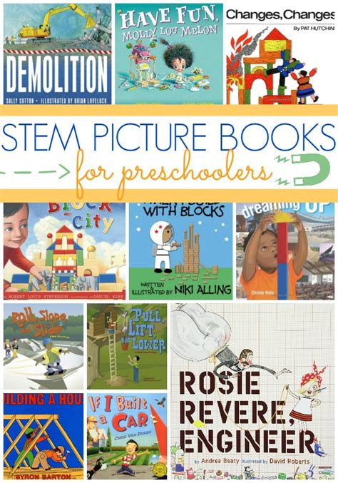 stem picture books for preschool pre k pages 234 | Best STEM Books for Preschoolers