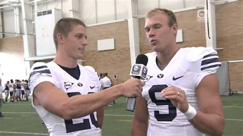 craig bills interviews daniel sorensen byu football fall