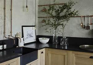 Plan De Travail Granit : un plan de travail en granit pour une cuisine de caract re ~ Dailycaller-alerts.com Idées de Décoration