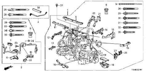 Honda Online Store Civic Engine Wire Harness