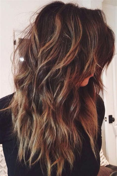 ideas  long layered haircuts  pinterest