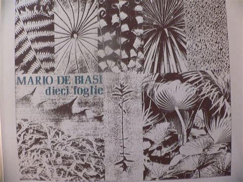 libreria pennasilico dieci foglie da mario de biasi silk screen studio ascoli