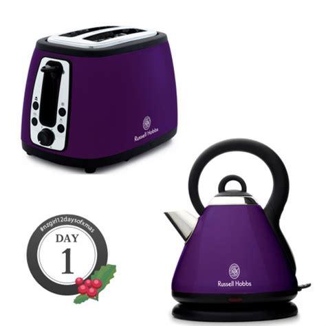 hobbs toaster purple win a hobbs toaster and kettle winstuff