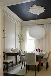 15 idees deco pour refaire un plafond design feria With what kind of paint to use on kitchen cabinets for ceiling medallion wall art