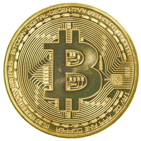 B Bitcoin by 1 X Gold Plated Bitcoin Coin Collectible Gift Btc Coin