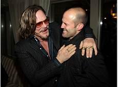 Jason Statham and Mickey Rourke Photos Photos The Cinema
