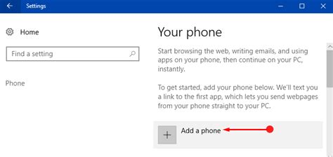 how to resume from phones to pc with cortana in windows 10