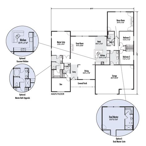 Adair Homes 2160 Floor Plan by The Mt Custom Floor Plan Adair Homes