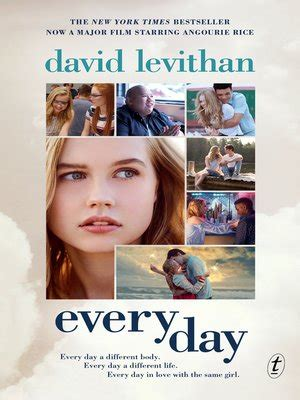 Every Day David Levithan Overdrive Ebooks