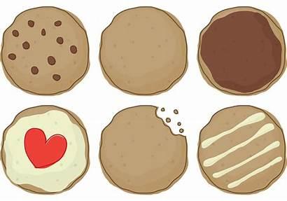 Cookie Vector Clipart Vectors Delicious Vecteezy Graphics