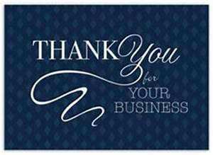 Thank You For Your Business Greeting Cards Up to  f
