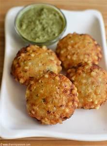 Sabudana vada recipe | How to make sabudana vada - Sharmis ...
