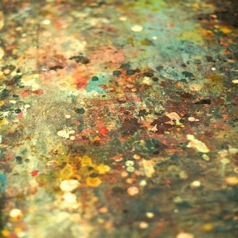 fine art floor ls love this splatters of paint on stained concrete floors