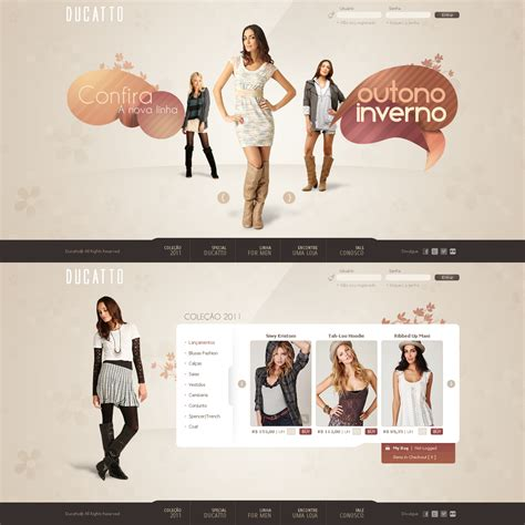 Fashion Website Templates  Style Jeans