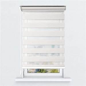 Store Enrouleur Blanc : store enrouleur jour nuit filtrant blanc cr me jn17 ~ Edinachiropracticcenter.com Idées de Décoration