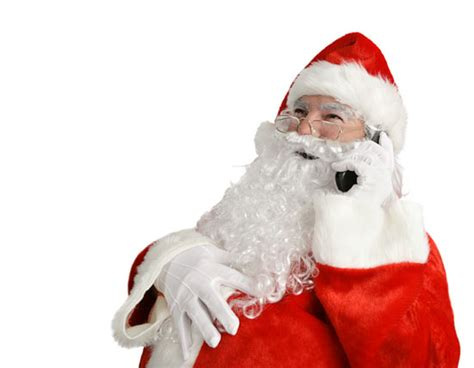 Santa Claus does not care about silhouette. See why he is ...