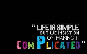 LIfe Quotes And... Simple Coverwith Quotes